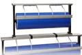 1 AUFSATZAPPARAT-Papierabroller 30cm  1,3kg Serie ALU