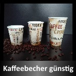 Kaffeebecher to go, Pappbecher, Coffee to go Becher, take away Verpackungen