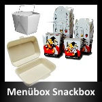 Men�boxen, Lunchboxen, Snackboxen, Hamburgerboxen, Suppenbeh�lter